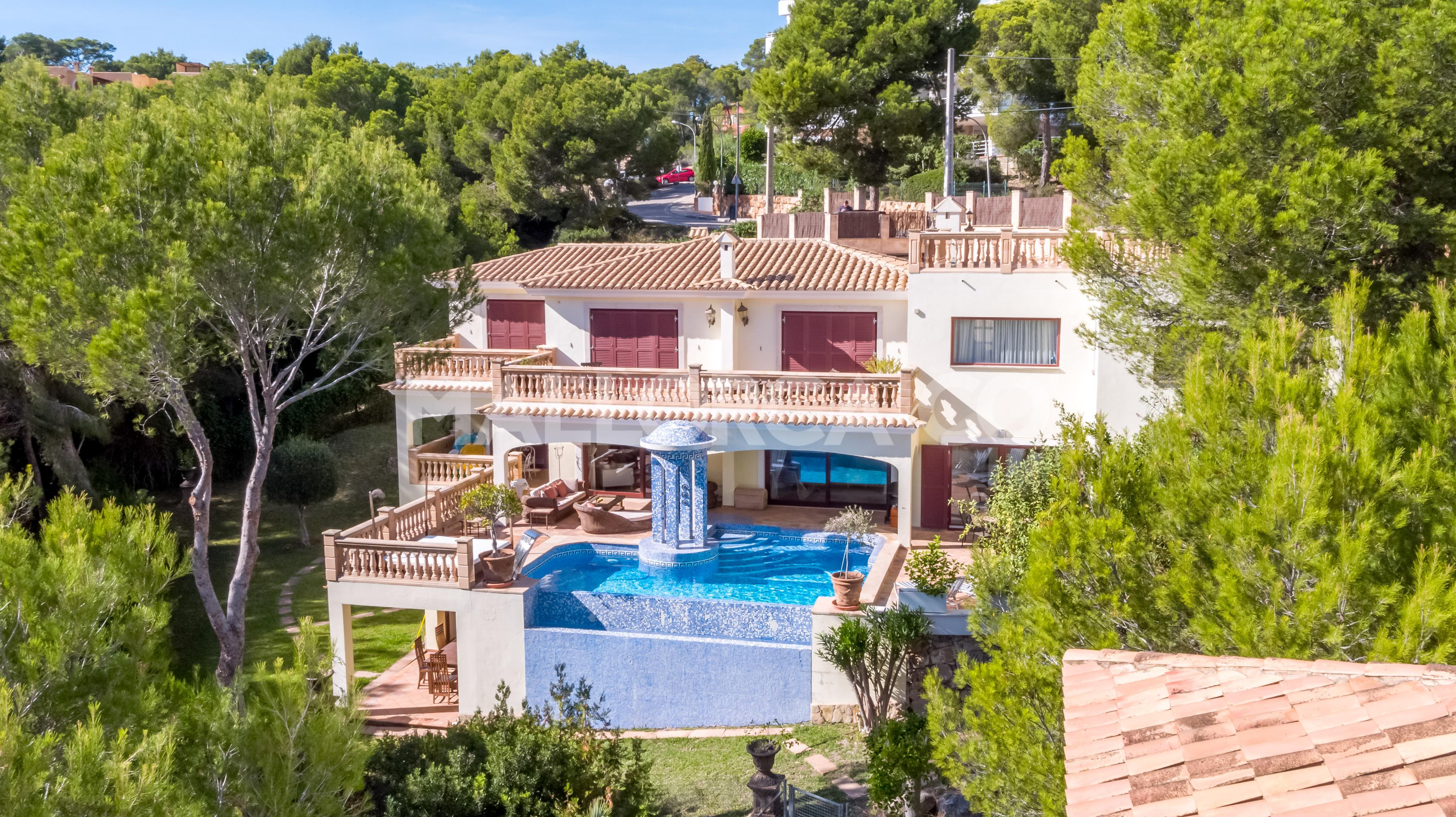 Stunning villa with private access to the beach in Cala Vinyes @ Mallorca
