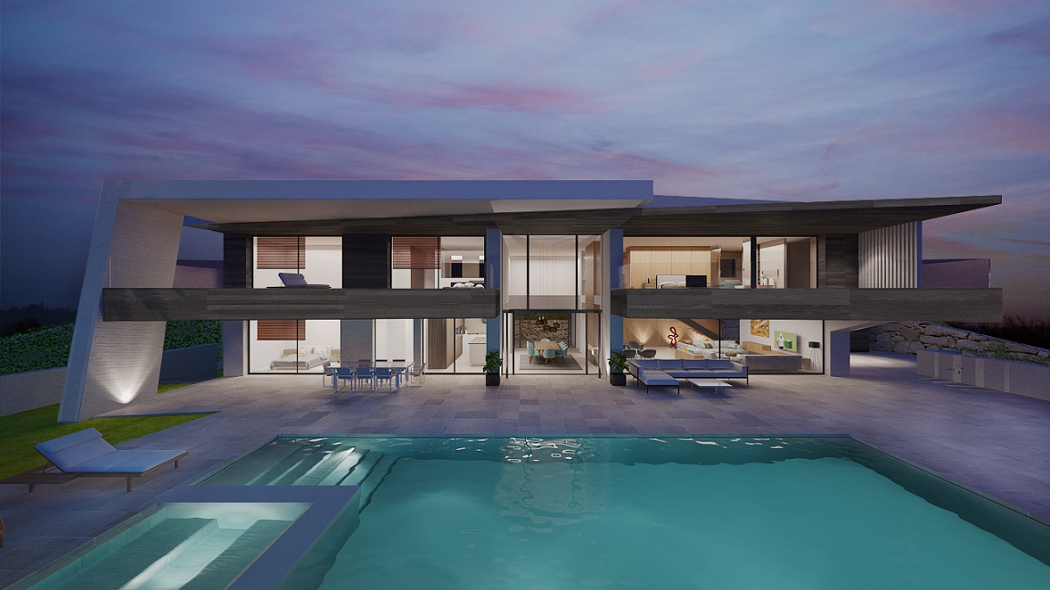 Luxury Modern Villas Spain
