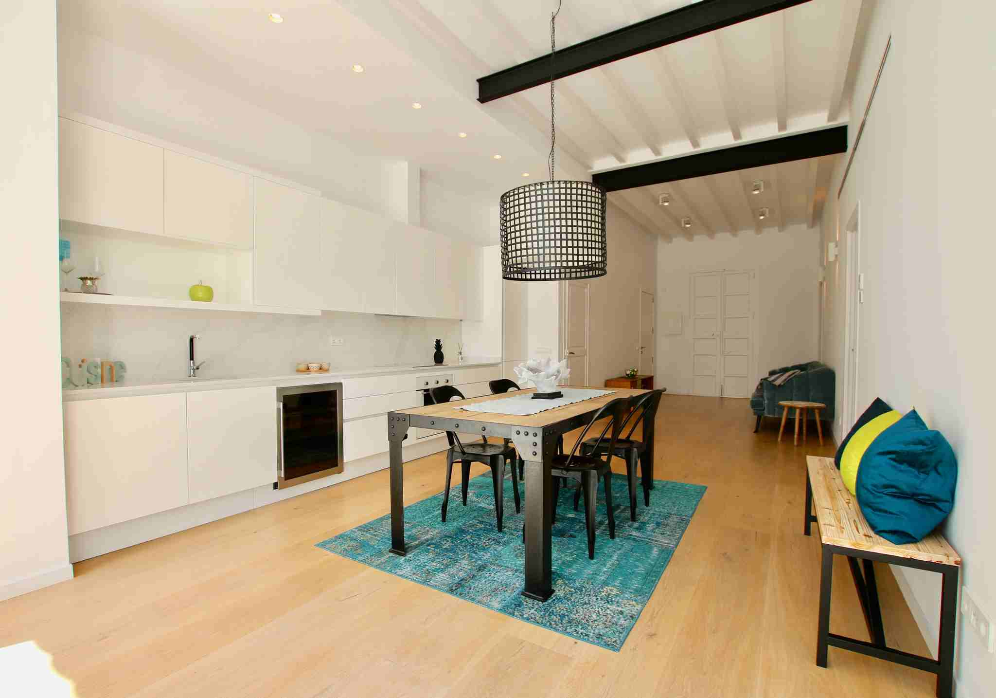 Newly renovated apartment with top quality materials located in Santa Catalina @ Palma de Mallorca