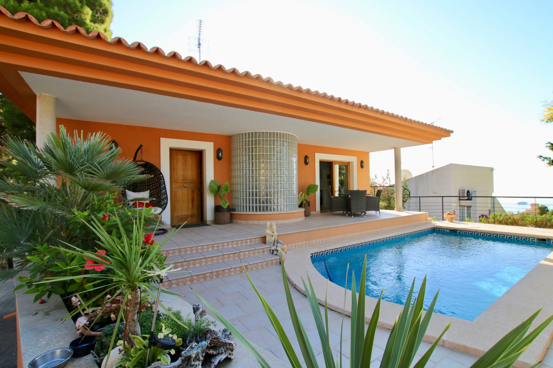 Villa with sea view in the exclusive area of Costa d'en Blanes @ Mallorca