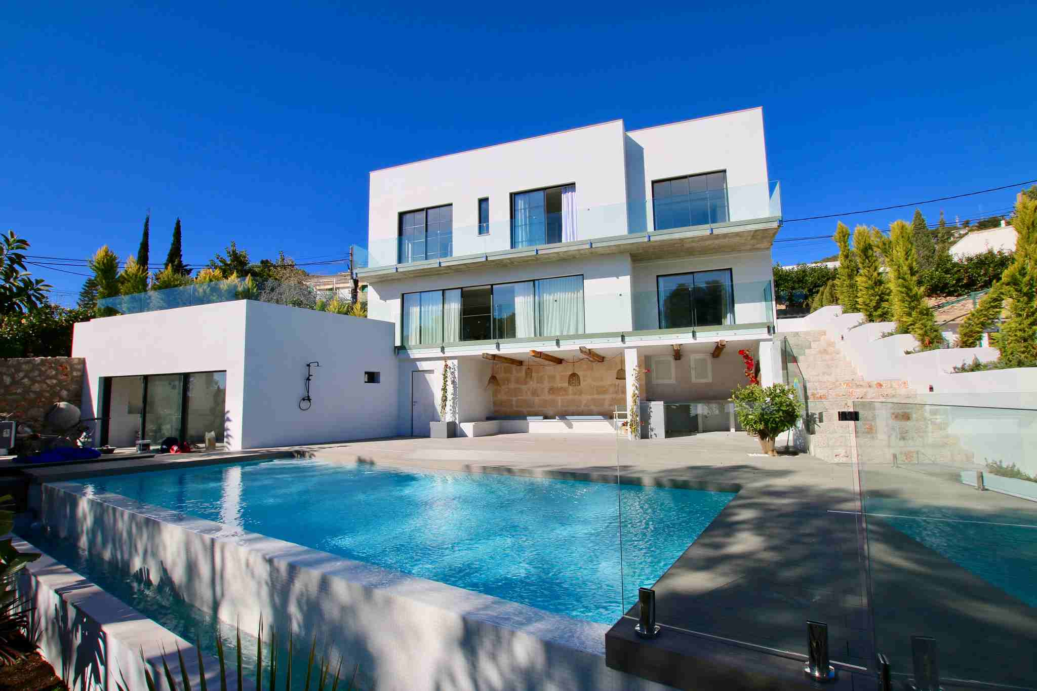 Brand new villa, modern style, sea view in Genova @ Mallorca