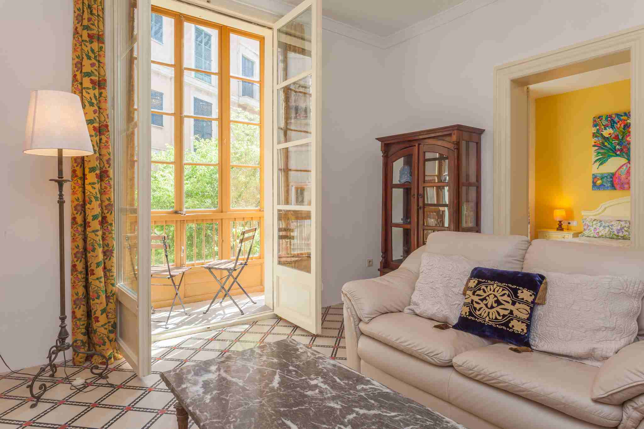 Cozy and bright apartment in the heart of the City @ Palma de Mallorca