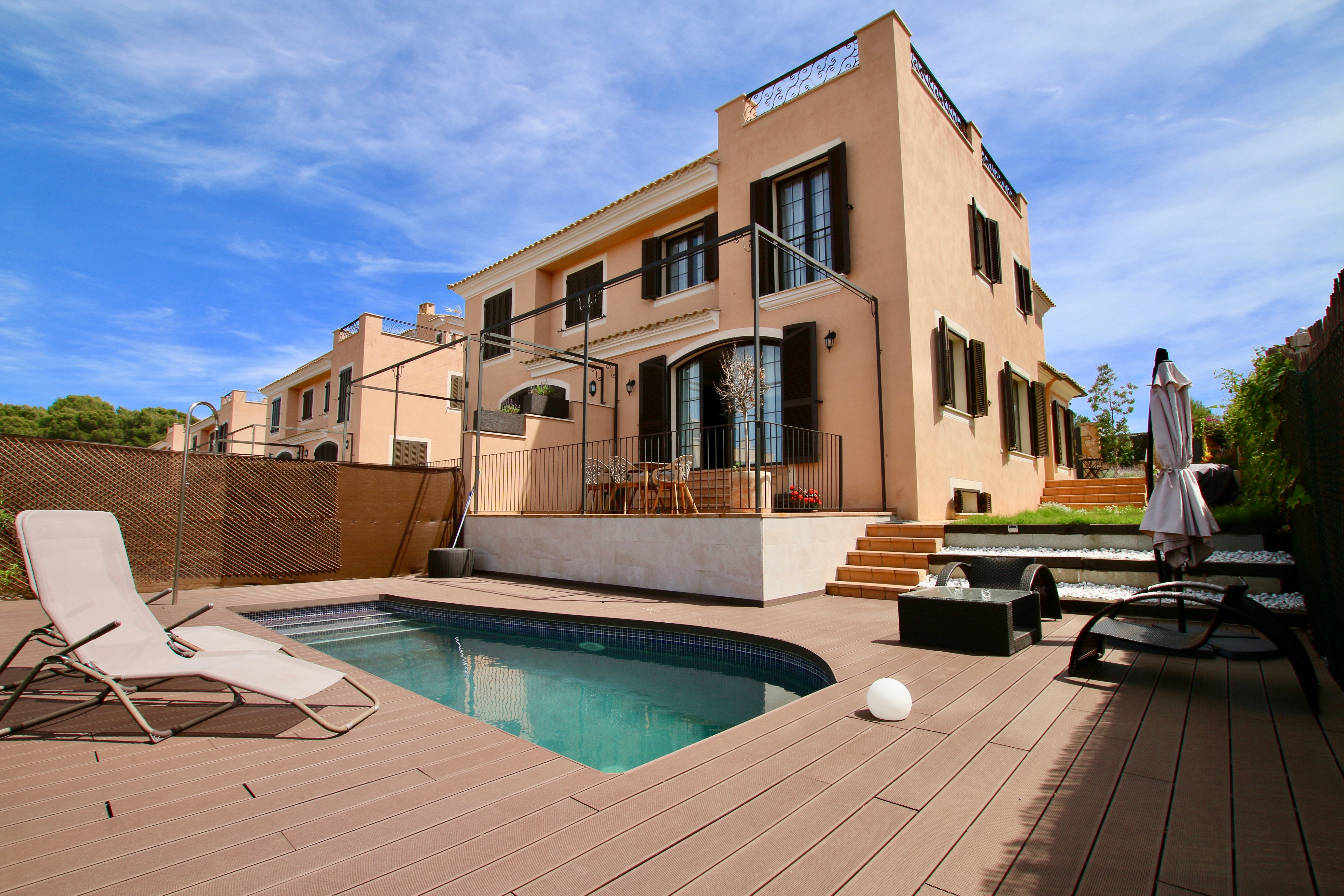 Semi detached house with private pool in Puigderros @ Mallorca