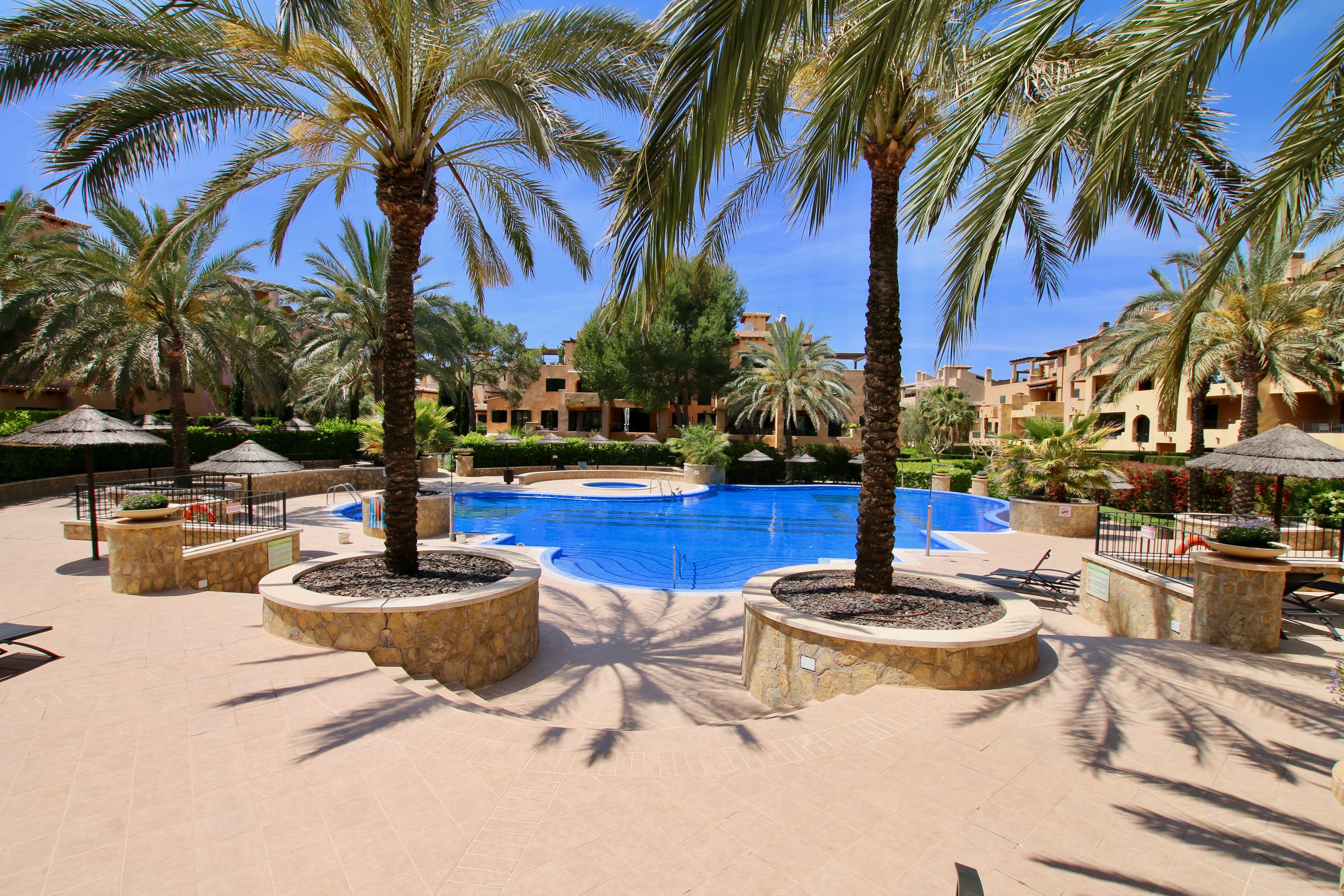 3 beds/ 2 baths apartment in amazing urbanization in Puigderros @ Mallorca