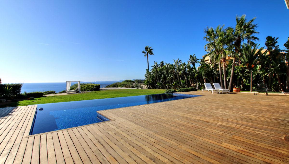 piscina vistas