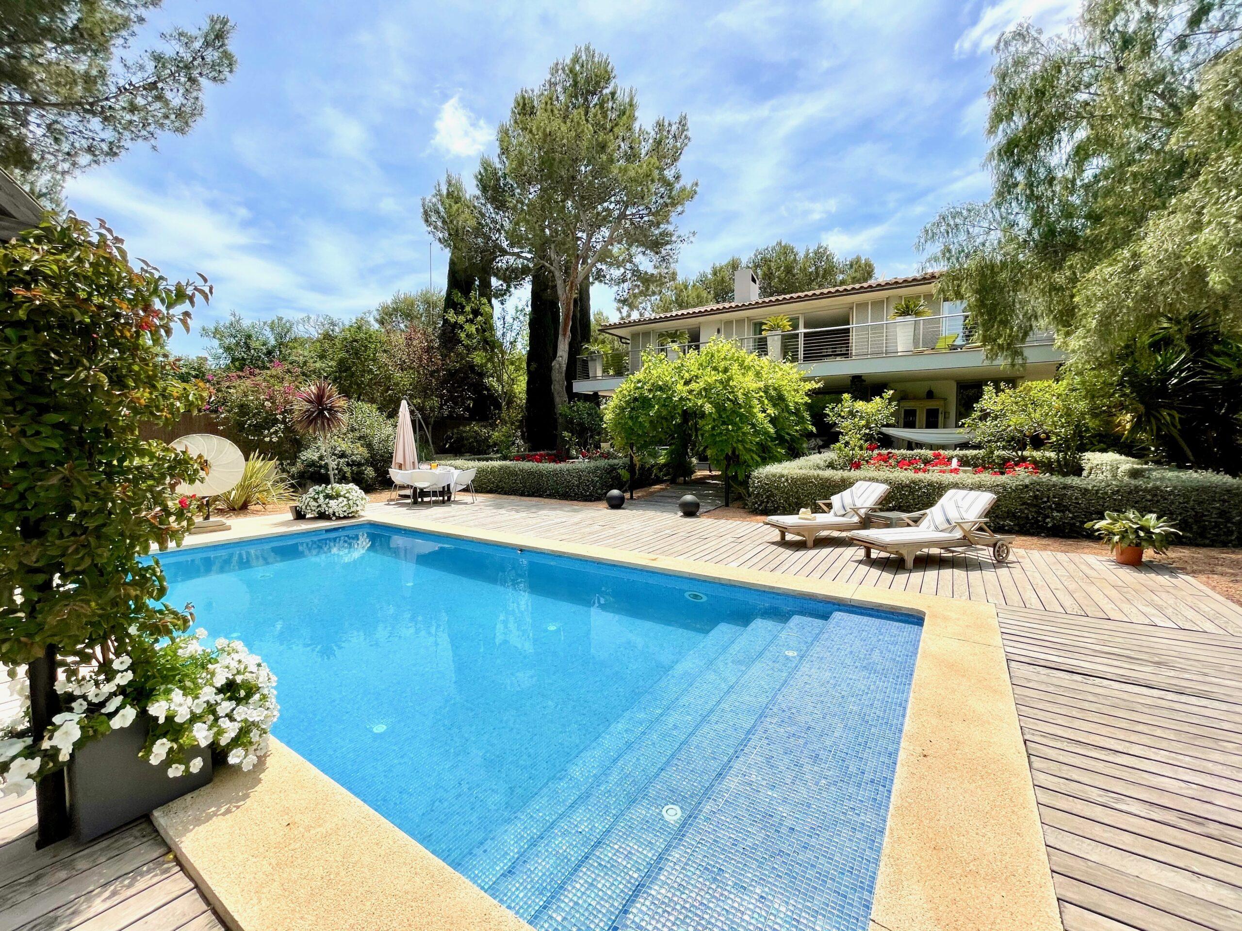 Luxury villa in perfect conditions in Sol de Mallorca, Calvia